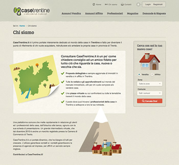 Case Trentine website
